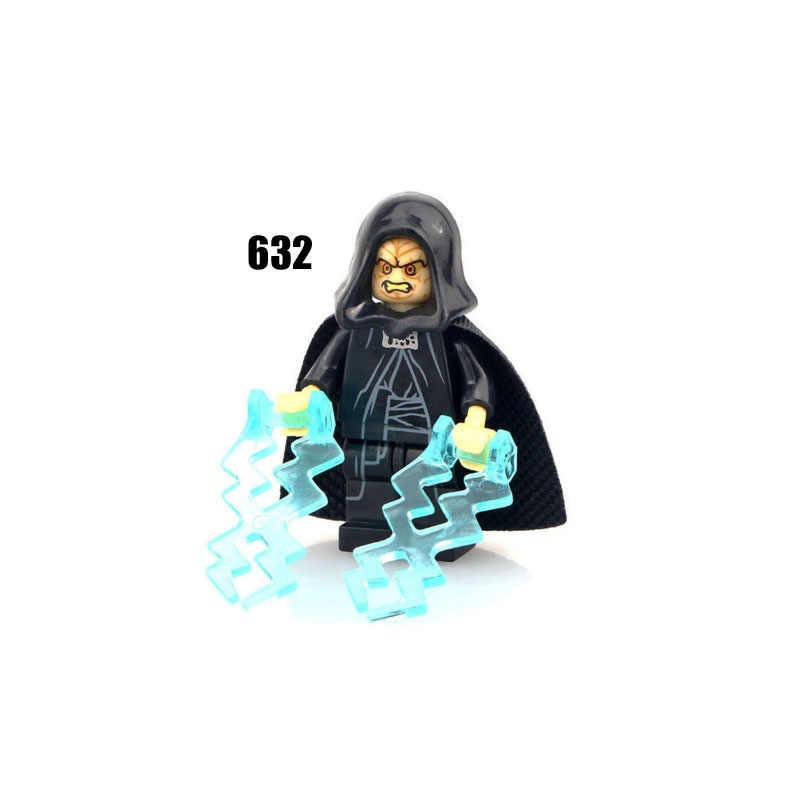 Einzigen Verkauf Super Heroes Star Wars 632 Sith Kaiser Reich Bausteine Figur Ziegel Spielzeug kinder geschenk Kompatibel Legoed Ninjaed