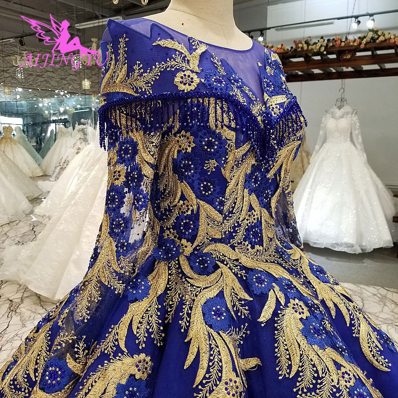 AIJINGYU Wedding Dress America Vintage Gowns Boutiques 2019 Luxuris 2018 Balls Crop Top Wholesale Wedding Dresses Factory