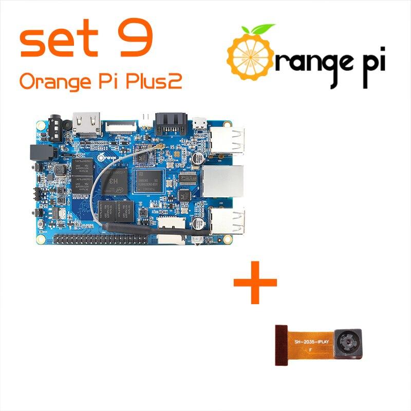bilder für Orange Pi Plus 2 Satz 9: Pi Plus 2 und Kamera mit weitwinkelobjektiv