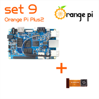 Orange Pi Plus 2 Set 9:  Pi Plus 2 and  Camera with wide-angle lens
