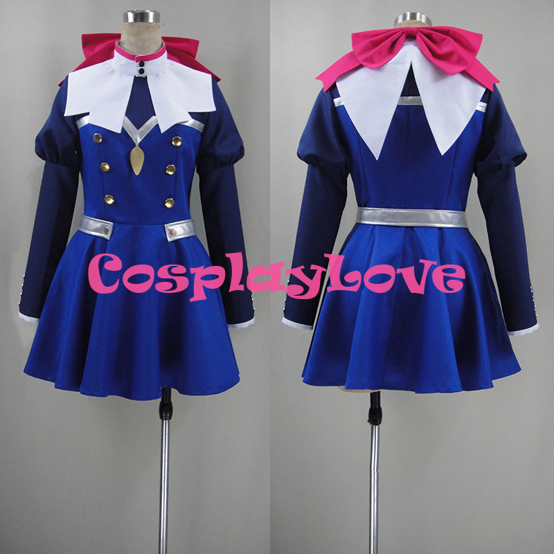 Custom Made Japanese Anime Concrete Revolutio Choujin Gensou Hoshi no Kiko Cosplay Costume High Quality CosplayLove Christmas