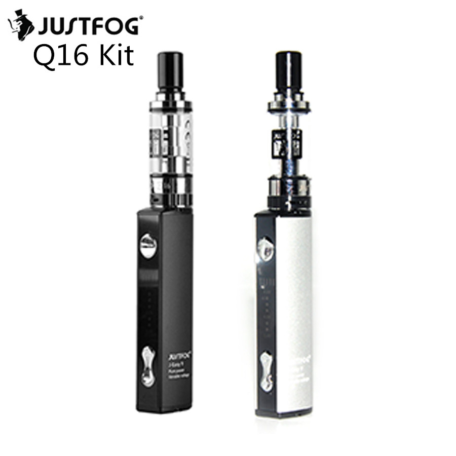 5pcs JUSTFOG Q16 J easy 9 KIT 900mah Battery 2 0 ML Tank with Q16 Clearomizer