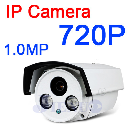 Caméra IP extérieure 720 P étanche IP66 réseau 1.0MP HD caméra de vidéosurveillance P2P Plug Play caméra ip 1mp caméra ip hd
