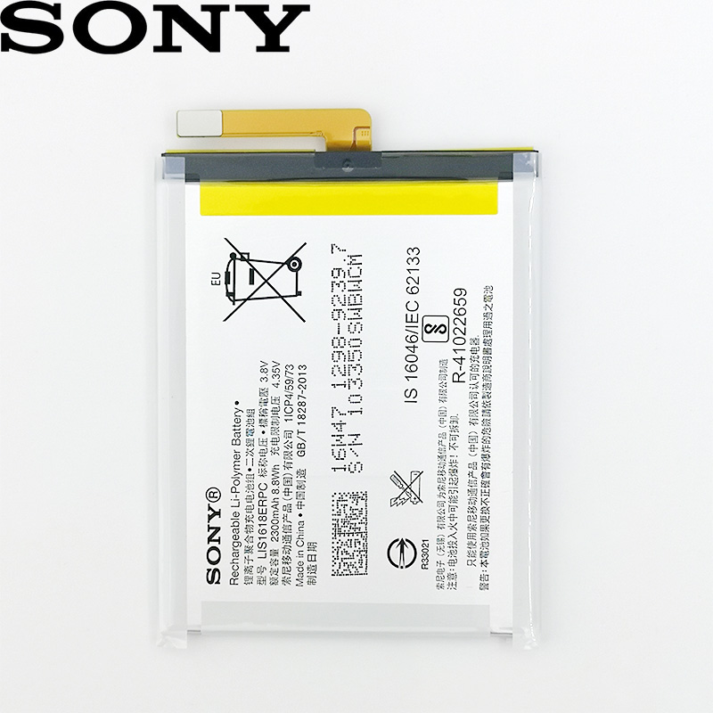 SONY 100% Original LIS1618ERPC LIP1653ERPC LIS1594ERPC AGPB015-A001 High quality <font><b>Battery</b></font> For SONY Phone In stock <font><b>Battery</b></font> image