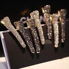 Hot Sale High Quality Exquisite 1PC Women Girls Alloy Crystal Hairpins Allergy Free Wedding Unique New Arrival