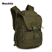 Mochila  Men Womens Big Backpacks Outdoor Military Army Tactical Backpack Sport Travel Rucksacks Laptop Bookbag 3 day packs 40L