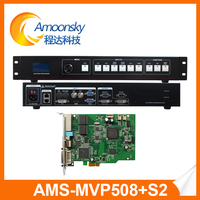 2 years warranty mvp508 led video wall display screen controller vga video processor with cololight s2 sending card