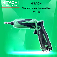 Япония HITACHI Зарядка Ударный Гайковерт WH7DL Электрическая Отвертка Складной Отвертка 2 Батареи 1 Зарядное Устройство 1 Toolbox