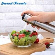 Stainless Steel Spray Pump Fine Mist Pump, Spray Bottle Oil Sprayer Pot Cooking Tool