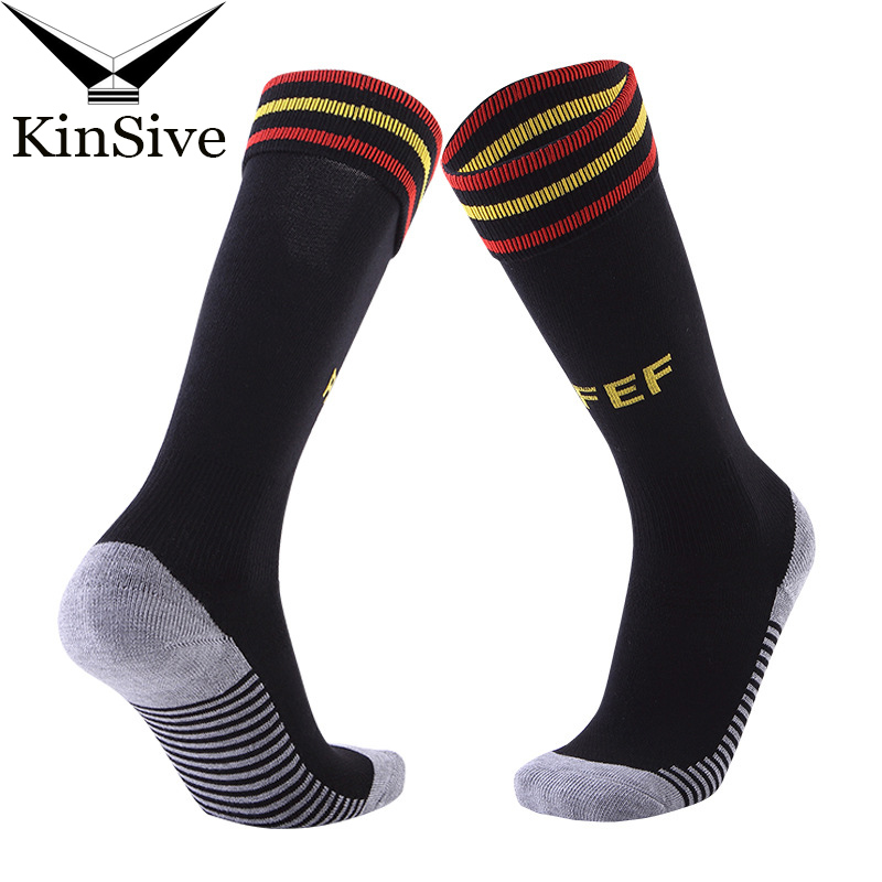 1 Pairs Socks Men Sporting Soccer The national Club Breathable Antibacterial compression ...
