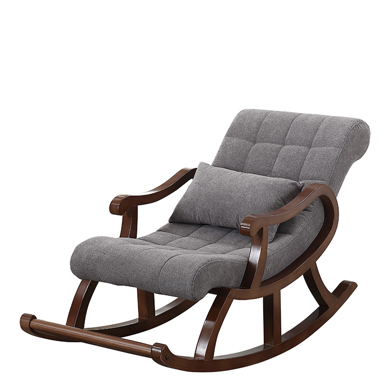 chaise a bascule nordique en bois pour personnes agees fauteuil a bascule pour adultes canape de detente balcon facile a utiliser pour la maison