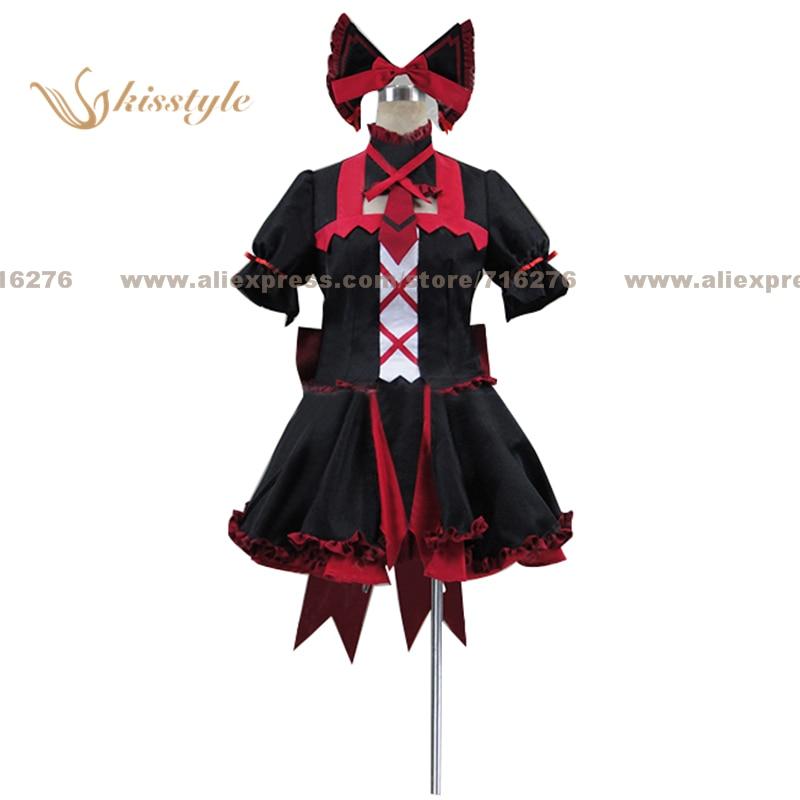 Porte de mode Kisstyle: Jieitai Kano Chi nite, Kaku Tatakaeri Rory Mercury Rori Makyuri uniforme COS vêtements Costume de Cosplay