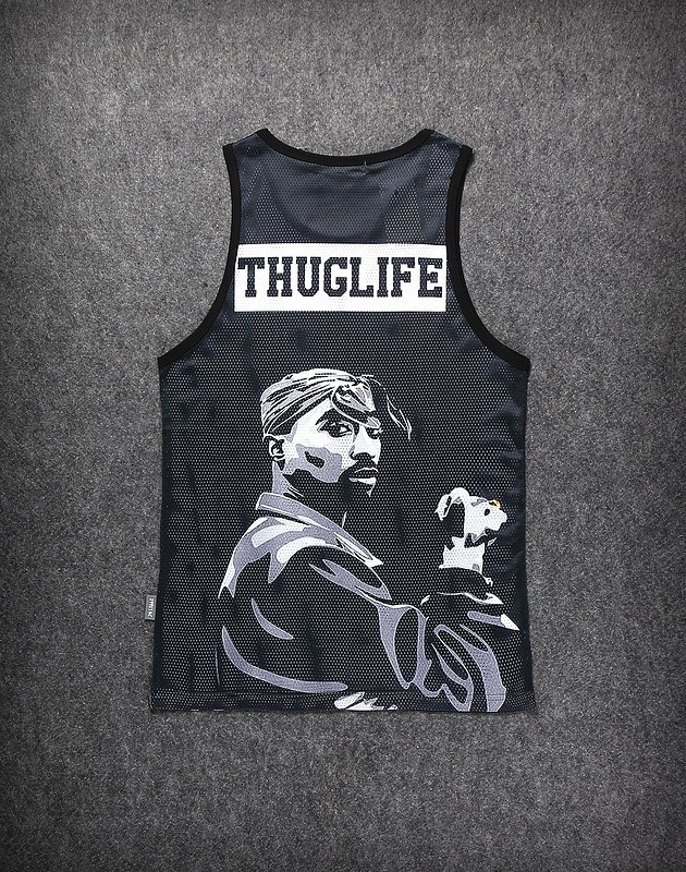 e346f9cfcbf 2015 men's summer 3D tank tops Jordan basketball /2pac tupac Biggie ...