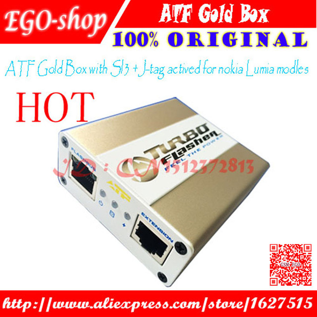 free shipping 2015 newest Advance Tubro Box atf box atf gold box atf limited edition box with activation SL1 SL2 SL3 JTAG EMMC