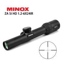 MINOX HD ZA5I 1.2 6x24 IR Tactical Riflescope Optic Sight Rifle Scope For AK47 AR15 M4 Caza Oxota Sniper Gear Rifle Hunting
