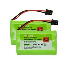 2 шт. * Аккумулятор PKCELL Ni-MH 5/4 AAA * 3 3,6 V 800mAh аккумуляторная батарея для BT446 BT-1005 ER-P512