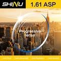 SHINU Alta Calidad Personalizado Gafas de Lentes Ópticas 1.61 Índice Lente Asférica Lente de la Prescripción Gafas Miopía Lente SH1002