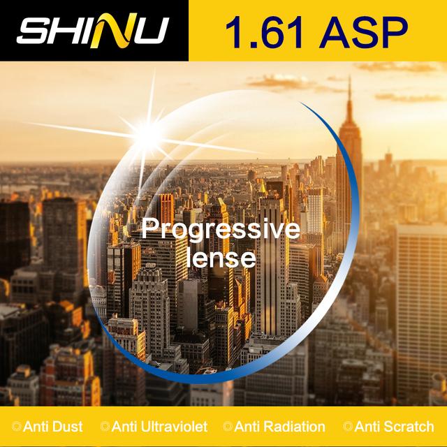 SHINU Personalizado Óculos De Lentes Ópticas de Alta Qualidade Índice de 1.61 Lente Asférica Lente Miopia Óculos de Lentes de Prescrição SH1002
