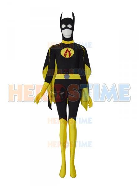3D Printed Spandex Batgirl Cosplay Design Custom Symbol Superhero Costume Zentai Suit Superwoman Costume