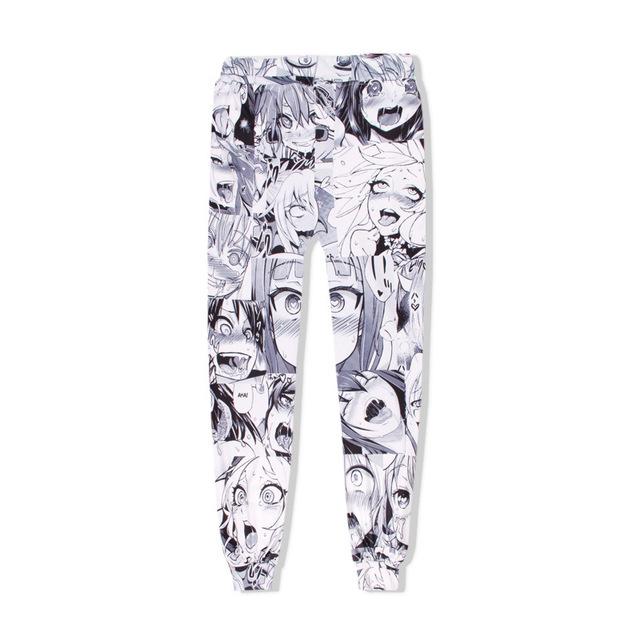 Trendy Anime Hoodie and Pants