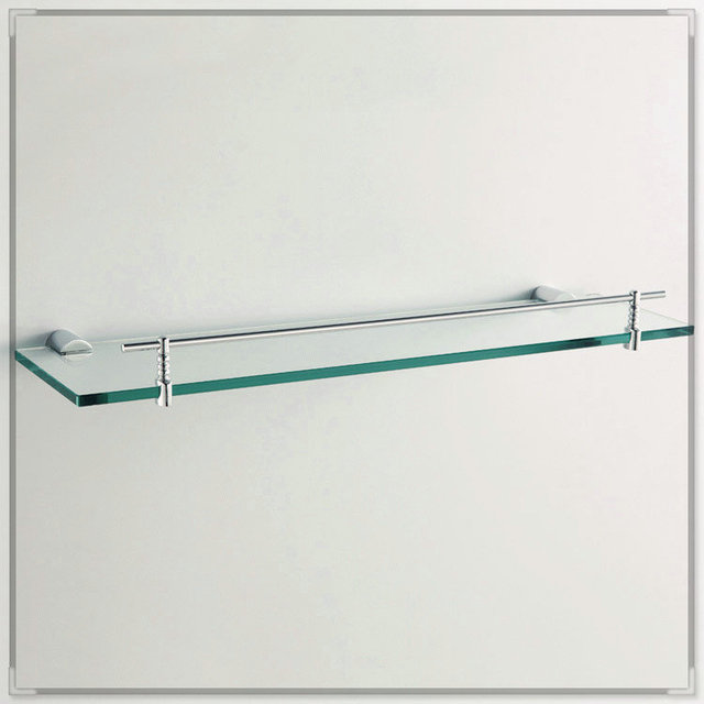 Modern Bathroom Accessories Products Solid Br Chrome Finished Corner Gl Shelf Gb012g 3 Washbasin