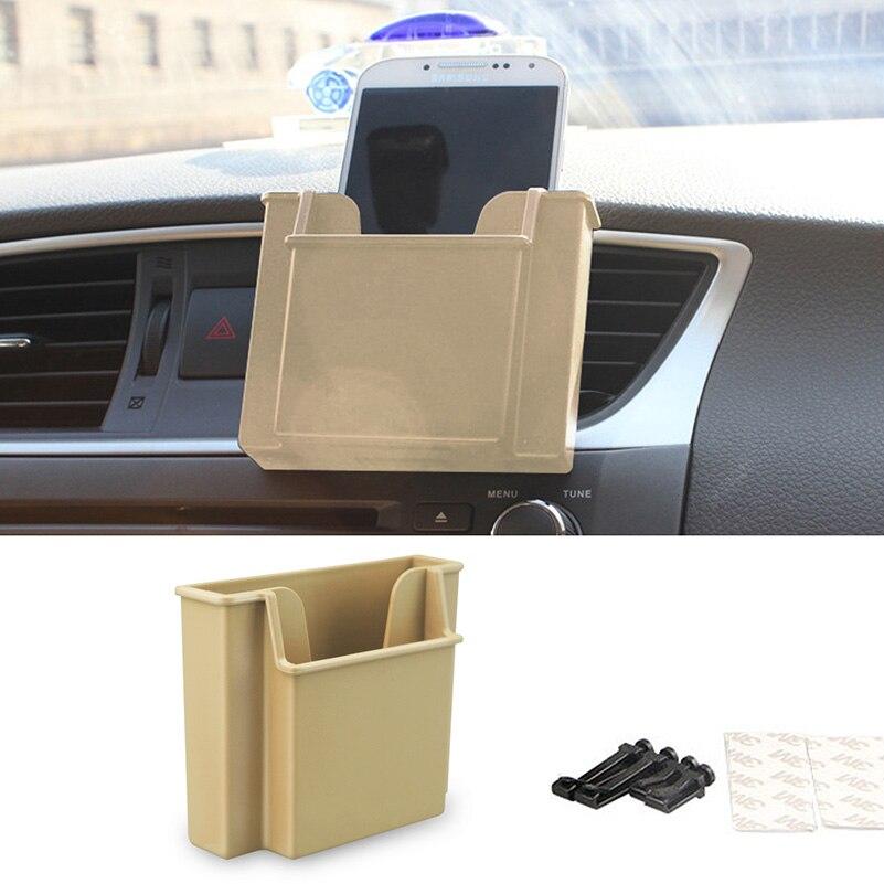 Сотового телефона мешок держатель Ящик для хранения автомобилей для VW Поло Passat В6 В7 СС Гольф 5 6 7 ГТИ Джетта МК4 МК5 МК6 тигуан Туарег шаран Кэдди