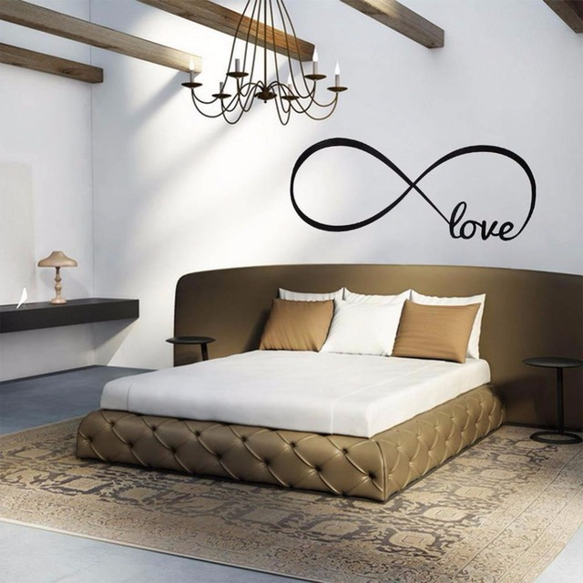 Love Infinity Wall Decal Removable Sticker Symbol Art Decor Mural Quote Words Living room with simple & Love Infinity Wall Decal Removable Sticker Symbol Art Decor Mural ...
