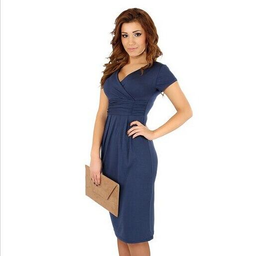 Vestiti di maternità vestiti per gravidanza incinta con scollo a V manica corta in cotone abito estivo maternità abiti elastici