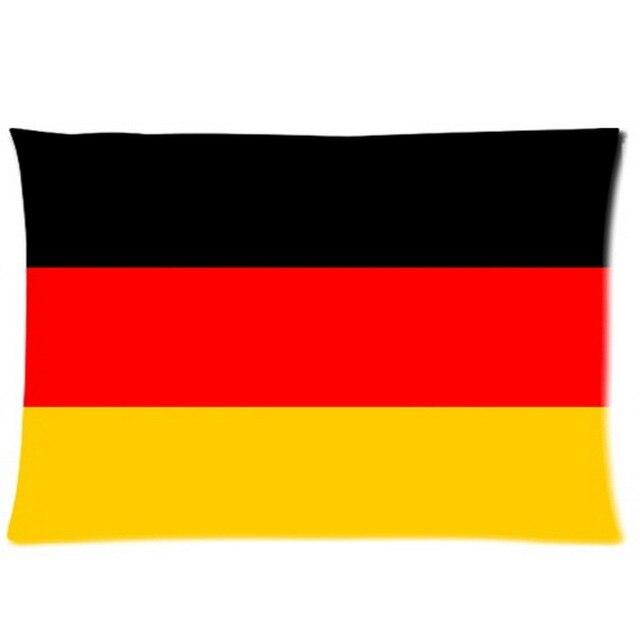 graphic regarding Printable German Flag called Customized germany flag Pillowcase Rectangle Printable Pillow