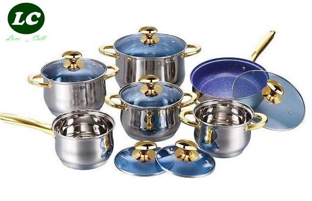 Utensils Casseroles Cookware Set Inox Senior Quality