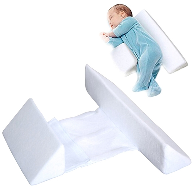 New Baby Wishes Infant Sleep Pillow Support Wedge,Adjustable Width Shape  Pillow