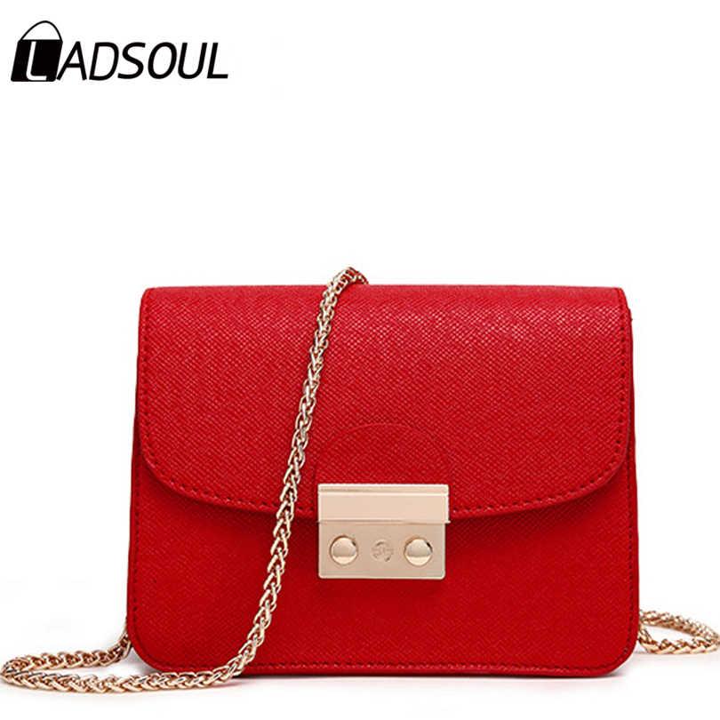 LADSOUL новая Маленькая женская сумка-клатч хорошего качества мини-сумка на  плечо женские сумки 6a70112429055