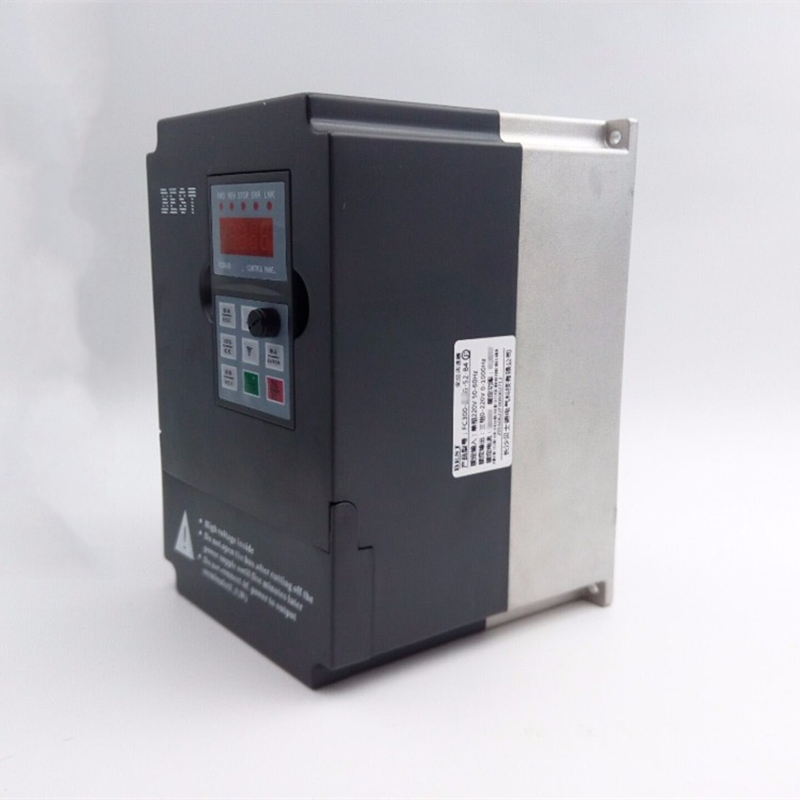 Variable Frequency Drive 11KW 1PH 220V CNC Spindle Motor Speed Control 15HP VFD Inverter for Draw bench bosnic ph control 1