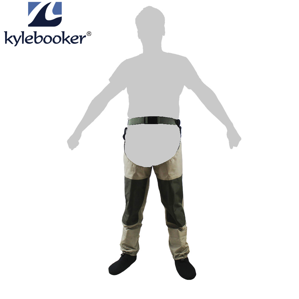 Fly Fishing Waders Waterproof Leg pants Stocking foot Hip Wader Breathable Thigh waders trousers