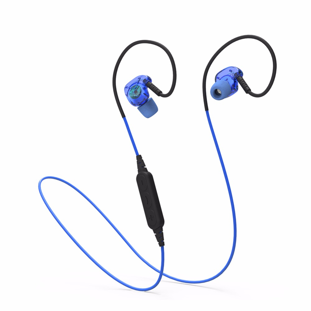 Wireless Bluetooth Headset Waterproof Noise Cancelling Stereo fone Earphones Mini headphones for a Mobile Phone MP3 MP4 Laptop
