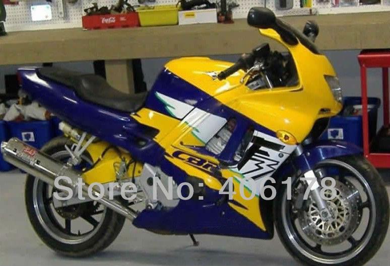 Hot Sales,Kit For Honda CBR 600 F3 1995 1996 95 96 Multi Color Motorcycle bodykit bodywork Fairings (Injection molding) hot sales cbr 1100 xx 96 07 body kit for honda cbr1100xx 1100 blackbird 1996 2007 blue motorcycle fairings injection molding