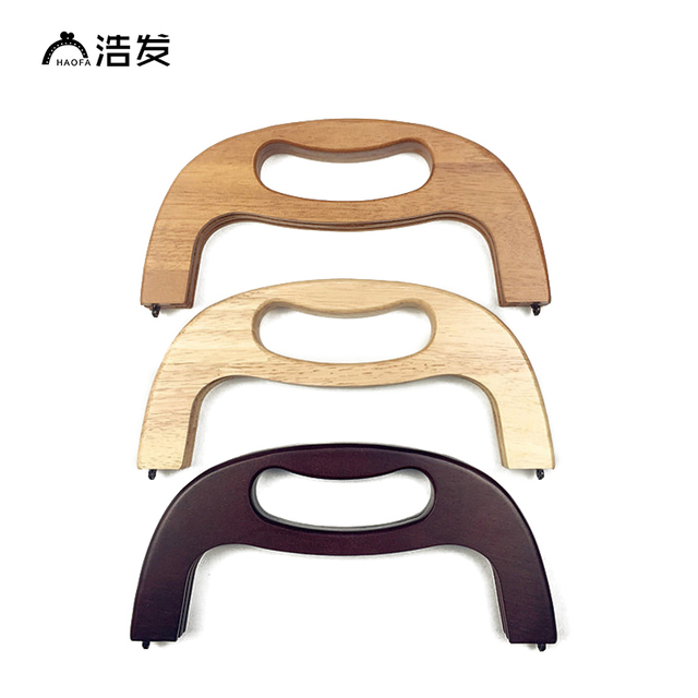 HAOFA 5pcs Chinese Supplies 25cm Wooden Handle 3 Colours Optional ...