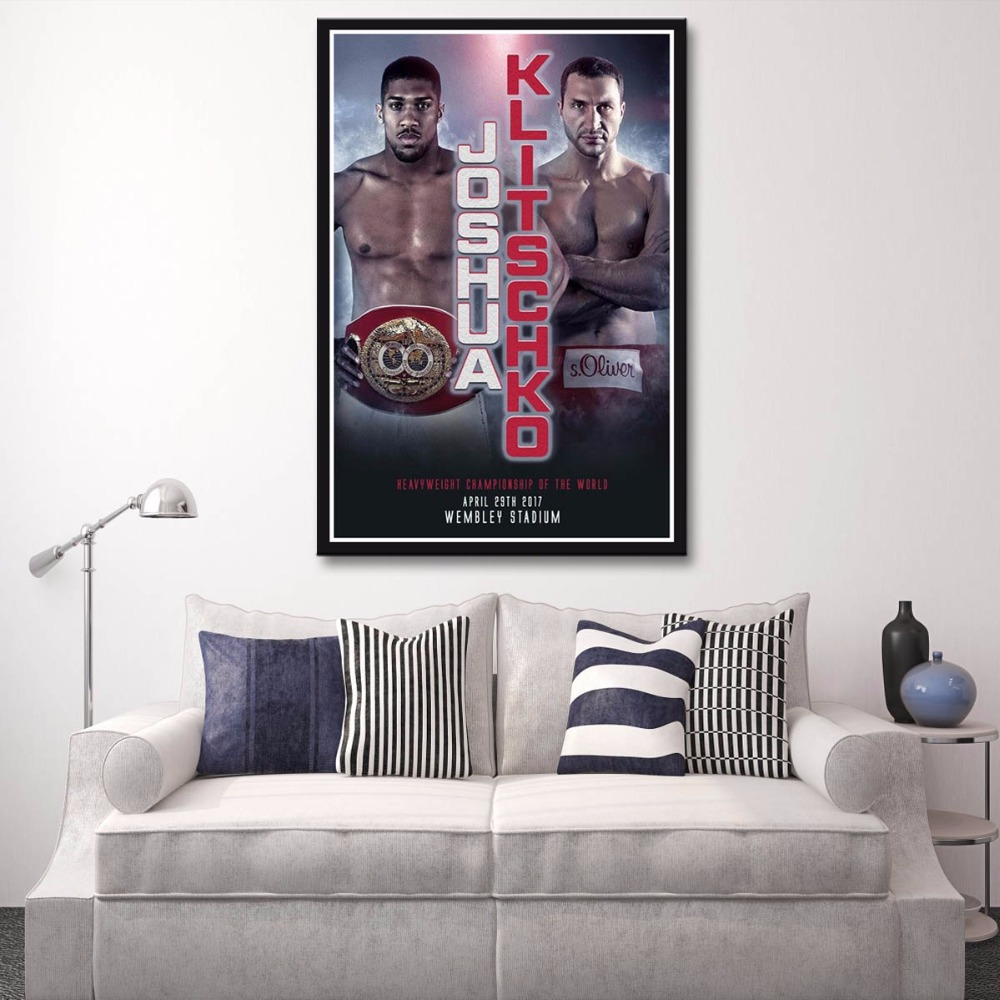 CHOOSE YOUR SIZE Anthony Joshua Poster Boxing Heavyweight Champ Poster FREE P+P Kunst Kunstplakate