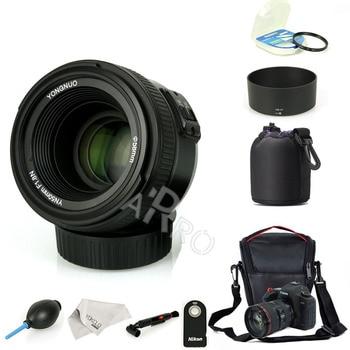 YONGNUO YN 50mm YN 50N f/1.8 AF Lens YN50mm Aperture Auto Focus Large Aperture for Nikon  Canon DSLR Camera as AF-S 50mm 1.8G