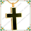 CMJ8355 classic cross cremation jewelry gold plated ash pendants never fade high quality urn jewelry