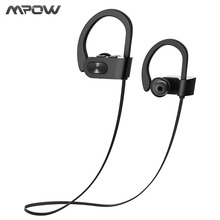 Mpow 2017 New Wireless Headphone Bluetooth V4.1 Waterproof IPX7 Headphones Noise Canceling Headset with Mic For Mobile phones