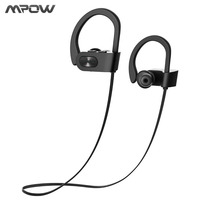 Mpow 2017 New Wireless Headphone Bluetooth V4 1 Waterproof IPX7 Headphones Noise Canceling Headset With Mic
