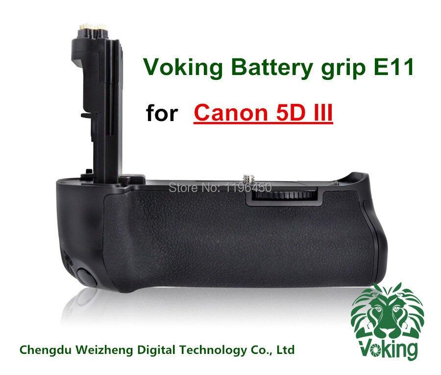 Voking Verticale Batterie support de prise en main VK-E11 pour Canon 5D3