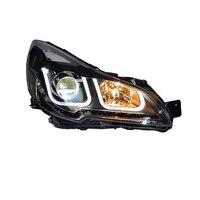 Assessoiсветодио дный res LED Automovil Drl дневные ходовые наружные Cob боковые поворотники фары автомобиля огни в сборе для Subaru Outback