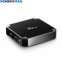 SOONHUA X96 Android 7 1 2 TV Box Amlogic S905W Max 2GB RAM 16GB ROM Quad
