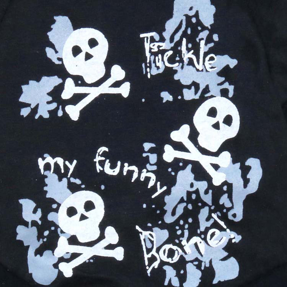Cute Letter Print Skull Dog Puppy Pet Clothes T-shirt Comfortable Cool Apparel