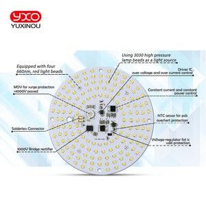 Image 4 - Fahrer 100W AC Led Wachsen Licht LED Lampe Volle Spektrum Samsung LM301B 3000K 660nm DIY LED Anlage Wachsen licht für Veg/Blüte