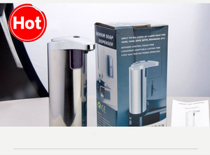 Image 5 - NarwalDate Automatic Liquid Soap Dispenser Toilet Bathroom Countertops Hand Sanitizer Box Shampoo Bottle Home Soap Pump Machine