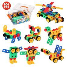Конструктор «сделай сам» обучающая Инженерная сборка игрушечные