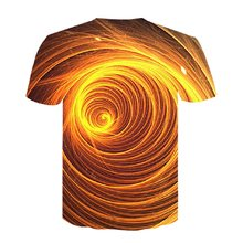 Dizzy hypnosis Vertigo Hypnotic 3d Printing Funny Short Sleeved Tees Men/women Tops Mens 3D T-shirts Summer 2019 New Male Shirt
